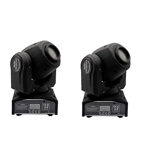 60W Moving Head Lights 6 IN1 DMX-512 16/18 Channels Stage
