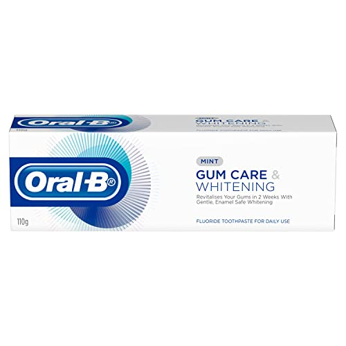 Oral-Bgum Care and Whitening Toothpaste Mint, 110gms