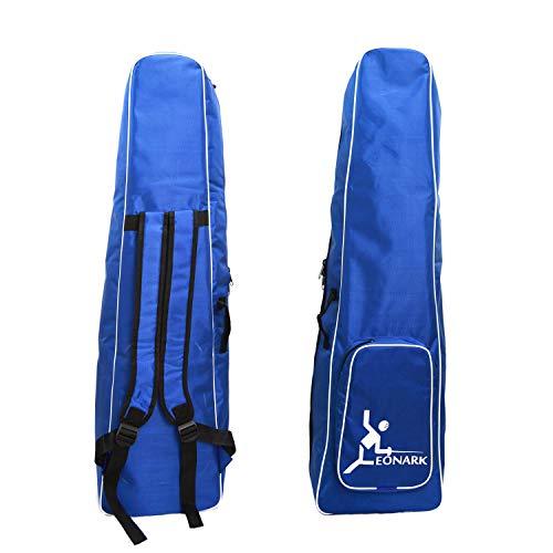 LEONARK Tasche für Schwert Saber und Foil - tragbarer Rucksack für Maske und Schwert von Schwert - Aufbewahrungstasche für Schießer Erwachsene und Kinder, Blue A