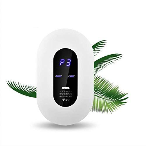 Purificador de aire inteligente de la máquina de ozono, ionizadores domésticos de aire con pantalla LCD con 4 modos, desodorización de temporización automática, para automóviles, habitaciones, humo