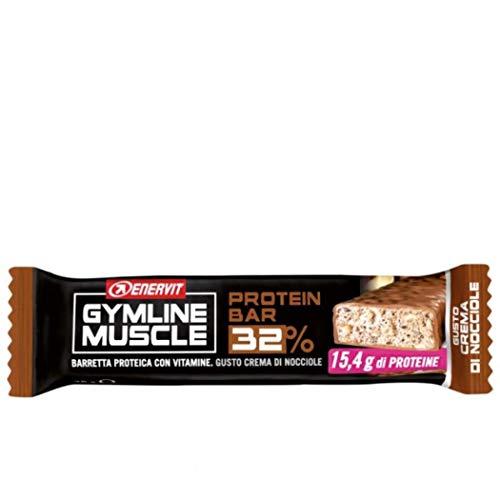 Enervit Gymline Muscle Protein Bar 30% Crema Di Nocciole 48 g
