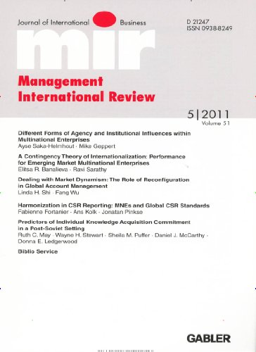 Management International Review [Jahresabo]