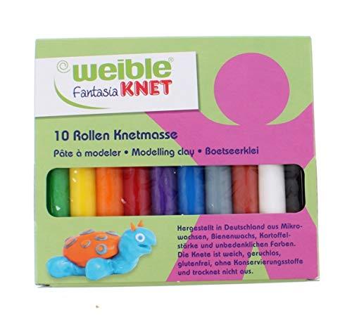 Weible Knet tonstäbe 10 Farben 150 Gramm