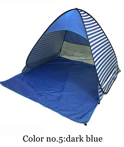 ZFLL outdoor tent Automatisch opzetten camping strand schaduw tent te openen snel outdoor UV50 bescherming pop up gooien tent hebben veel kleuren
