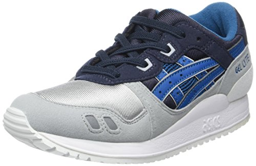 ASICS Lyte III PS, Baskets Basses Mixte Enfant, Bleu (India Ink/Sea Port), 13 UK