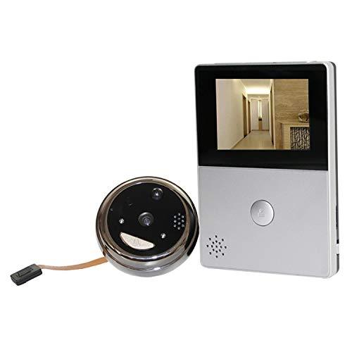Zhangxia Ring Video doorbell MA5 2.8 Pulgadas OLED Pantalla de visualización 1.0MP cámara de Seguridad Inteligente WiFi Timbre de Video, Soporte TF Tarjeta