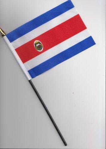 Costa Rica Flagge 25cm