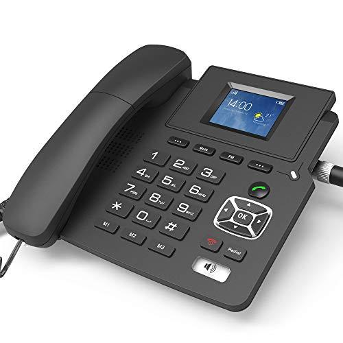 Teléfono fijo inalámbrico WIFI Hotspot para negocios en casa, P03 Full Netcom 4G tarjeta VOIP teléfono Internet teléfono