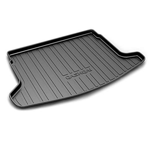 Alfombrilla Para Maletero Coche para Nissan Qashqai 2014-2020, Tronco De Goma Trasera Boot Liner Mat Impermeable Antislip Mat Alfombra De Suelo Bandeja Protectora Mat Antisuciedad