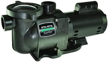 Pentair Sta-Rite N1-2A HP SuperMax Standard Efficient Single Speed High Performance Inground Pool Pump, 2 HP, 115/230-Volt