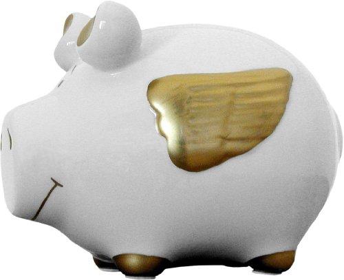 Sparschwein Engelschwein Gold, Kleinschwein von KCG