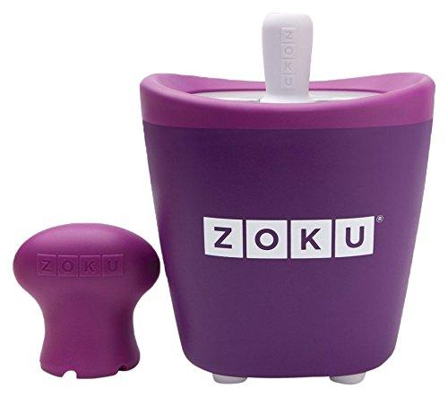 Zoku ZK110-PU Pop Maker Sorbetière Instantanée Violet