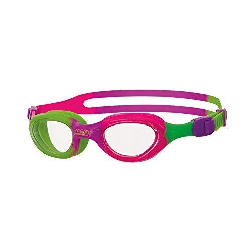 Zoggs Little Super Seal Gafas de natación, verde, morado, rosa, 0–6años