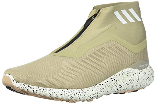 adidas Men's Alphabounce Zip m Running Shoe, Light Brown/Legacy/Noble red, 8 M US