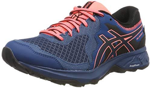 Asics Gel-Sonoma 4 G-TX, Zapatillas de Running para Mujer, Azul (Mako Blue/Sun...