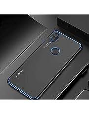 Zore Huawei P20 Lite Dört Köşeli Lazer Kırmızı Cep Telefonu Kılıfı