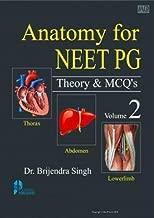 Anatomy For Neet Pg Theory & Mcqs (Vol - 2) P/B
