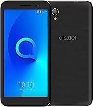 "Alcatel 1 Unlocked Phone 4G LTE 5"" Display 16GB Dual Camera ATT, Tmobile, Metro, Straight Talk - Black"