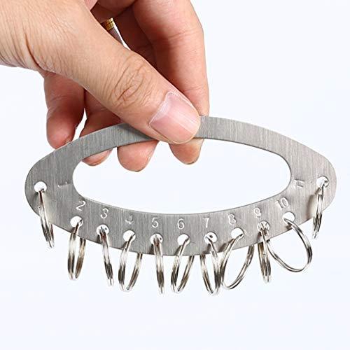 Armario para Llaves Caja para Llaves Planchas de acero inoxidable, anillo dominante, placa Key, Key Card, administración de claves del anillo de almacenamiento, Llavero Caja Llavero de Pared Tipo