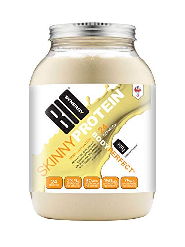 Bio-Synergy Skinny Protein. Low-Calorie Diet Whey Protein Powder. 700g (24 Servings), Vanilla Flavour