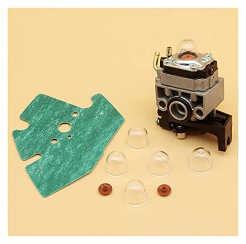 Kit de bombilla de imprimación de válvula de retención de carburador compatible con H-onda GX25 GX25N GX25NT GX25T FG110 FG110K1 HHT25S 16100-Z0H-825 Accesorios para cortacésped
