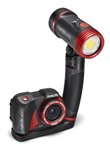SeaLife Micro 2.0 Pro 2500 Set, Includes 64GB Underwater Wi-Fi Camera, Sea Dragon 2500 Lumen Light, Flex Arm, Sea Dragon Case, Flex-Connect Micro Tray and Grip