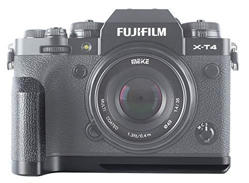 Venidice MK-XT4G Kameragriff Handgriff Halterung für Fujifilm X-T4 XT4 Digitalkamera, Metall, Schwarz, Venidice Tuch