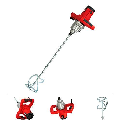 Grafner Rührwerk 1400 Watt, 2-Gang Getriebe, stufenlose Geschwindigkeitsregelung bis max. 900 U/min, M14 Aufnahme,...