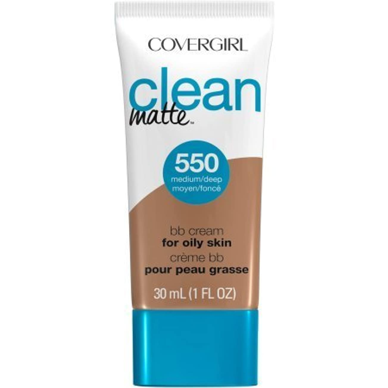 陰謀オリエント調べるCoverGirl Clean Matte BB Cream (Medium/Deep)