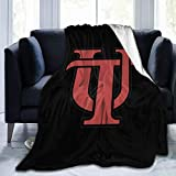 NOT University of Tampa Blanket Wool Sherpa Vacation Throw Blanket University Dormitory Travel Soft Warm 4 Seasons Available Full for Kids-60 x50