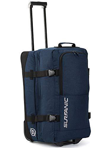 Surfanic Maxim 70 Roller Bag Navy (70 litres, Navy)