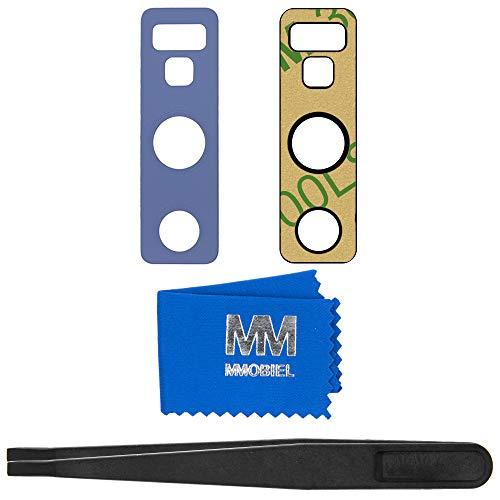 MMOBIEL Reemplazo Lente para Cámara Trasera Compatible con Samsung Galaxy Note 9 N960-6,4 Pulg (Azul) Inc Pinzas y Paño