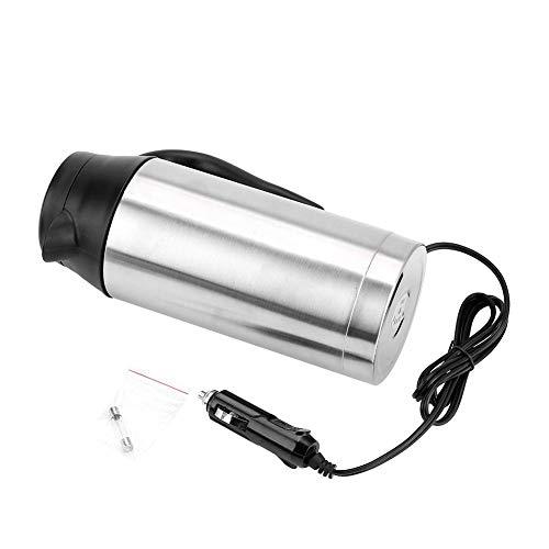 Hervidor de agua de 24 V, calentador de agua portatil, para coche, camion, tetera, 750 ml, 24 V