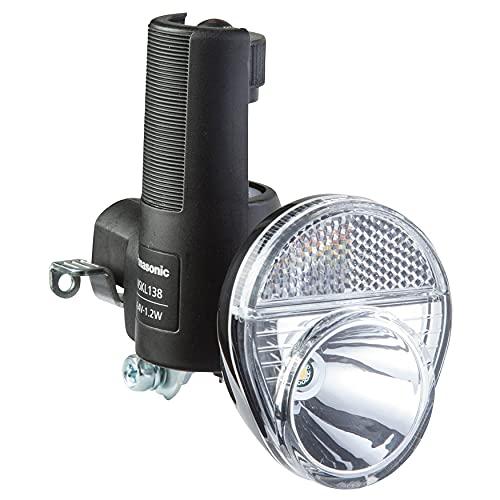 パナソニック(Panasonic) LED発電ランプ [NSKL138-B] ブラック ワイドLED NSKL138-B自転車