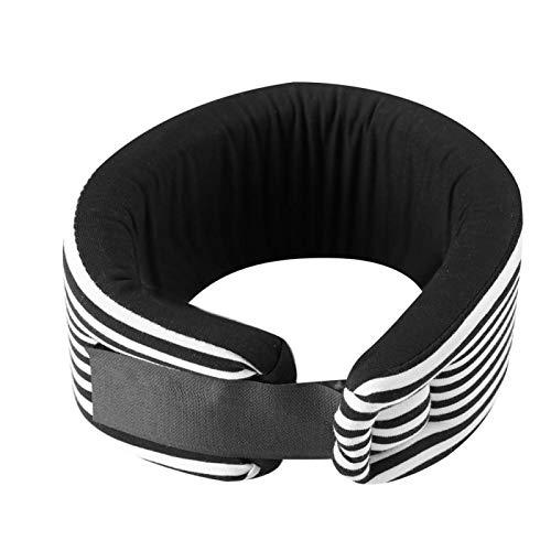 Collar cervical, collarín ortopédico, migrañas ajustables Dolor de cabeza para hombres Alivia el dolor para mujeres(L)