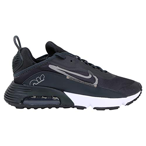 Nike Scarpe da ginnastica da uomo Air Max 2090, colore nero, Nero (Nero Off Noir Metallic Pewter), 41 EU