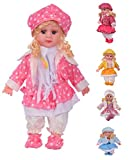 jesilo Soft Girl Singing Songs Princess Good Looking Musical Baby Doll Toy