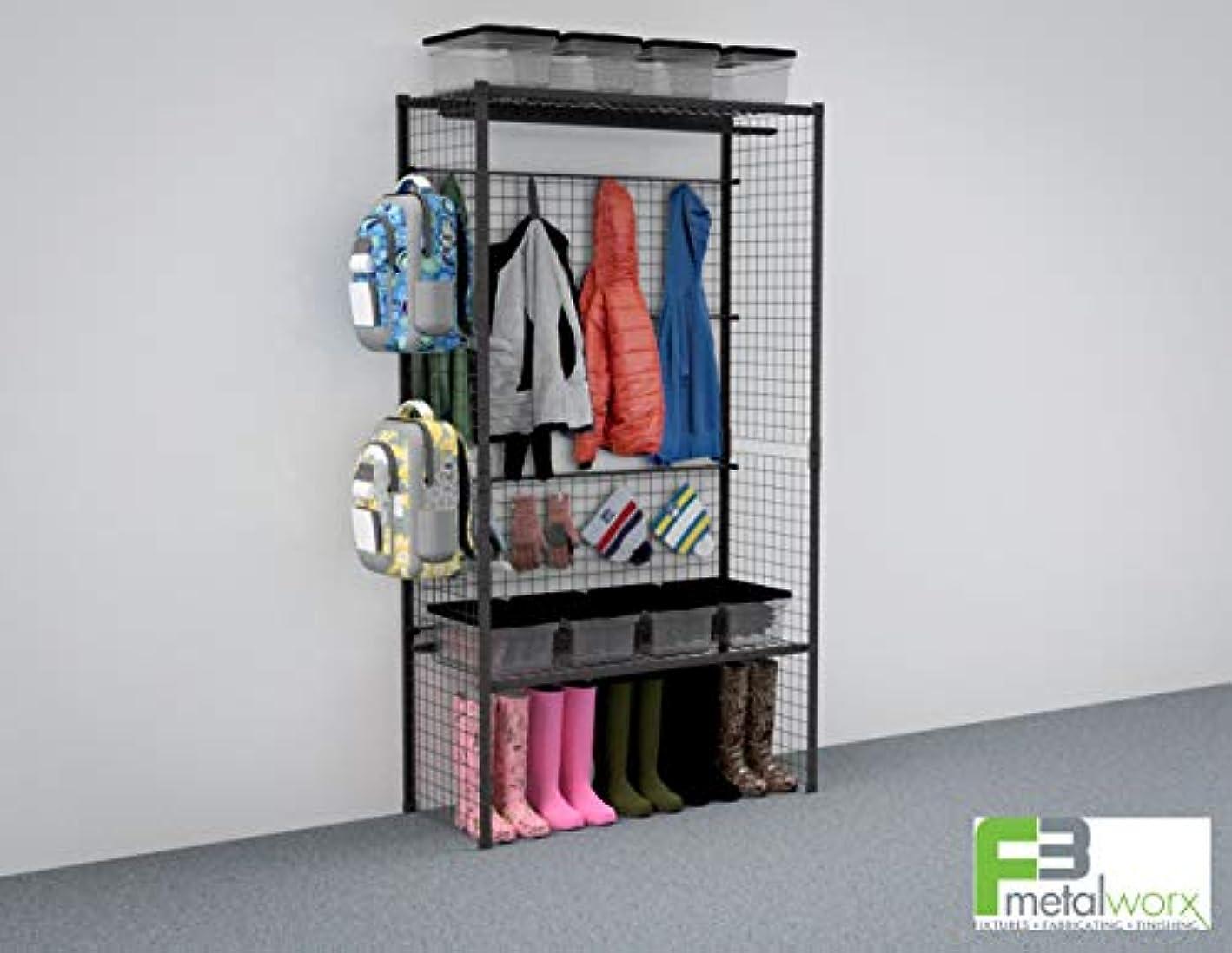Flexworx Apparel Package, Garage storage, Mudroom shelving, Home organization