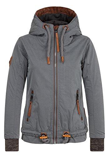 Naketano Damen Jacke Halbes Stündchen Ins Mündchen Jacket
