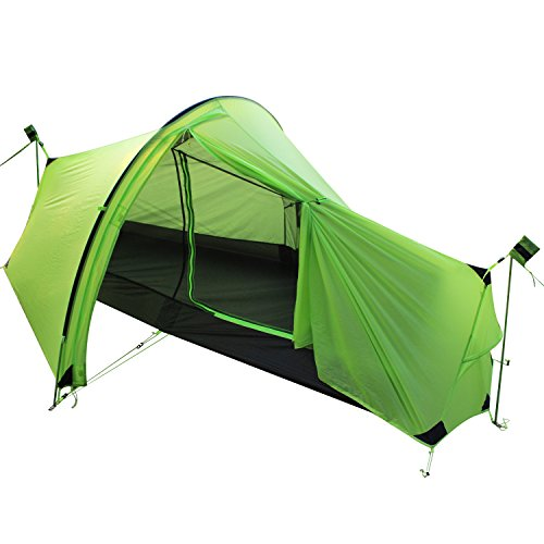 Andake Ultralight Tent, Waterproof 1 Person Camping Tent, Double-Wall Backpacking Tent (1206 g)