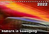 Kamera in Bewegung (Tischkalender 2022 DIN A5 quer): Abstrakte Strassenbilder (Monatskalender, 14 Seiten )
