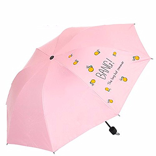 SFSYDDY-Sun Paraplu Zonneparaplu Uv Resistant Zwarte Gom Zonnescherm Creatieve Paraplu En Opvouwbare Paraplu.