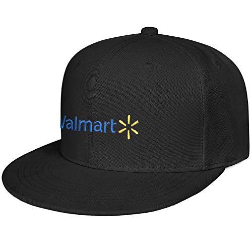 REGIDREAE Snapback Walmart Inc. Flat Bill Baseball Cap Printed Travel Hat for Adult