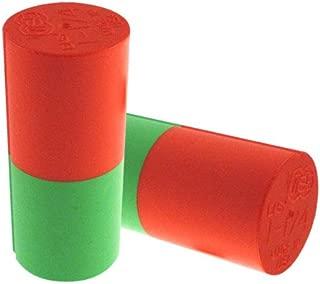 Easy Urethane Thumb Slug Orange/Green - ORG/GRN / 1 1/4
