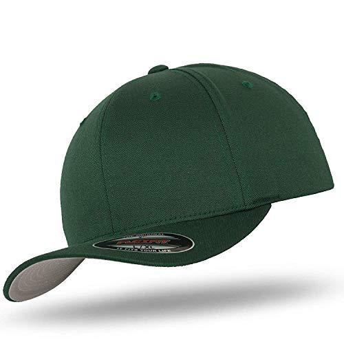 Flexfit - Gorra de béisbol original de lana cepillada, incluye bandana de...