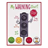 Behaviour Chart Magnetic Warning Chart Great for Children Toddlers Any Child with Autism or Special Needs Using Traffic Light Behavior System