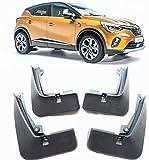 4 Piezas Faldillas Antibarro Para Renault Captur 2020, Delantero Trasero Faldillas Coche DecoracióN Accesorios