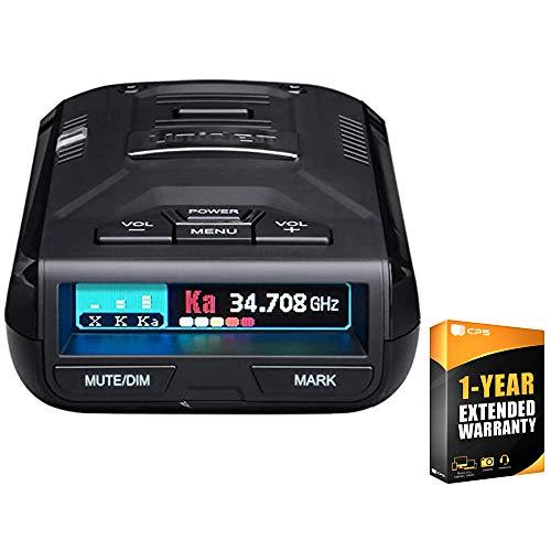 Uniden R3 Extreme Long Range Radar Laser Detector GPS, 360 Degree, DSP, Voice Alert Bundle with 1 Year Extended Warranty