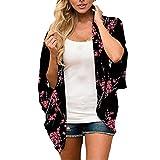 Short Sleeve Chiffon Kimono Cardigan for Women, Summer...