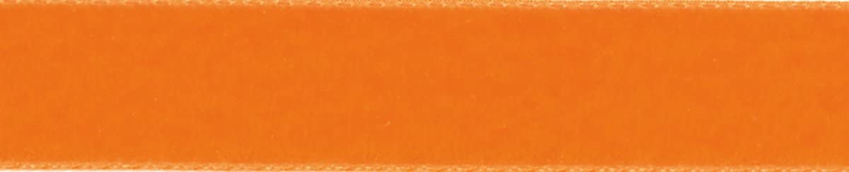 Naranja Berisfords Cinta de Terciopelo Cinta 102/x 15/x 102/cm